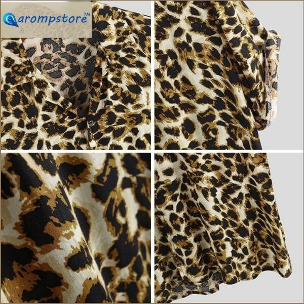 😎🐆Leopard Print Shirt Men🐆