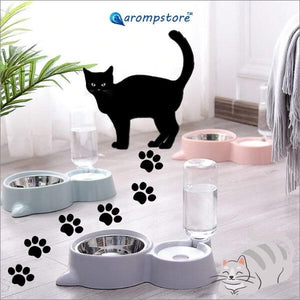 🎡 AWARD WINNING 2 in 1 Cat Bowl Automatic Water Dispenser 😻