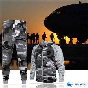 😎🏃‍♂️Camouflage Winter Sets Clothes