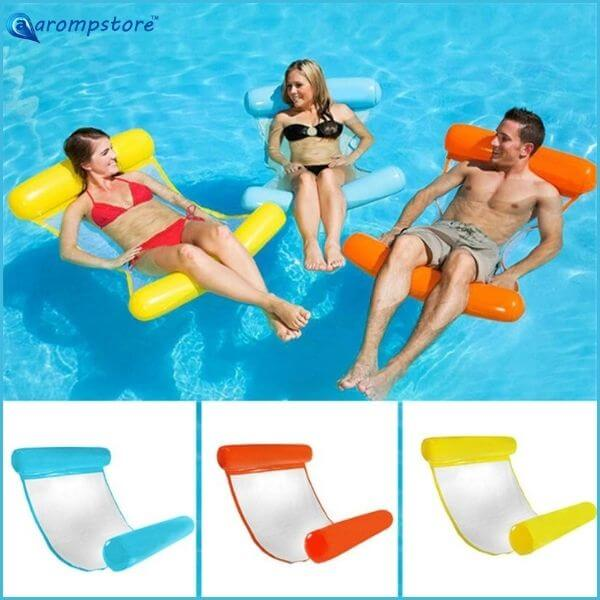 😎🤽‍♀️Outdoor Floating Water Hammock