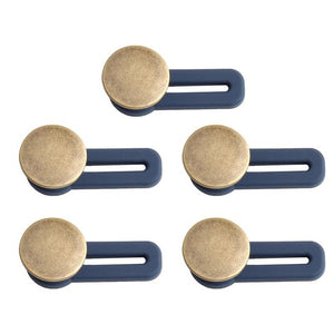 Free Sewing Adjustable Jeans Metal Buttons 5pcs
