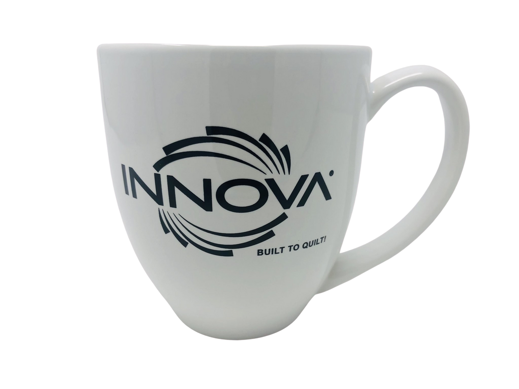 INNOVA Coffee Mug - White/Black