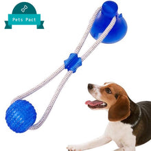 Load image into Gallery viewer, Suction Cup Dog Tug Toy