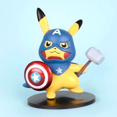 Pikachu x Avengers Model(Buy three Free Shipping)