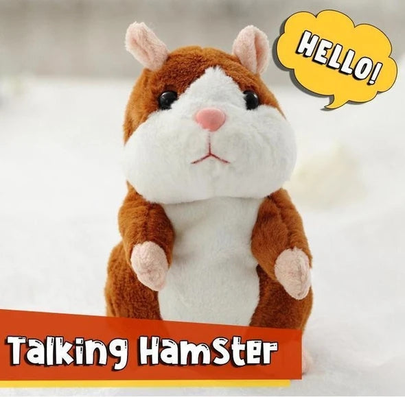 🔥$29.99 Only Last 2 Days🔥Repeated Talking Hamster Toy For Girls And Boys