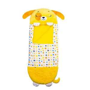 "Happy Nappers | Play Pillow & Sleep Sack Surprise | 54"" Tall x 20"" Wide 