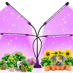 ERICDU Auto LED Grow Light for Indoor Plants with 9 Dimmable Modes & 3 Switch Modes