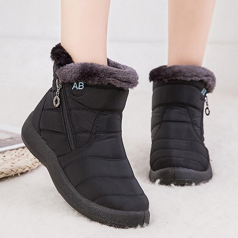 🔥 $19.99 Last DAY 🔥 Women Fur Warm Snow Boots