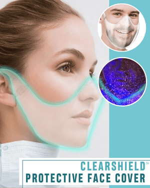 ClearShield™ Protective Face Cover