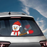 Car Wiper Christmas Decal Stickers HOT SELLING!