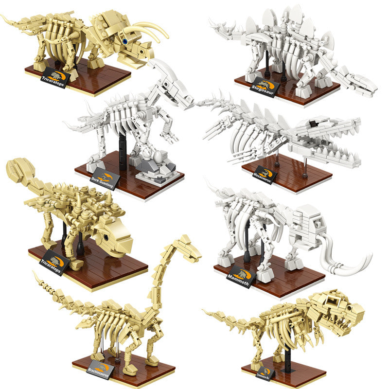 Jurassic World 3D Dinosaurs Fossil Skeleton Model Building