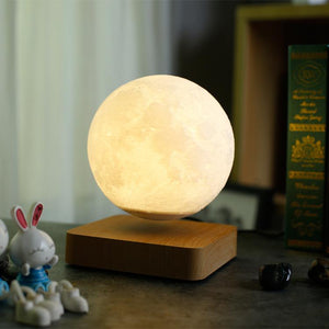 🎅BUY 2 FREE SHIPPING🎅 Magnetic Levitating Moon Lamp
