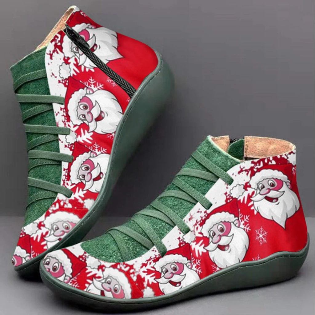 2020 Christmas Limited Edition Custom Version of Arch Support Boots
