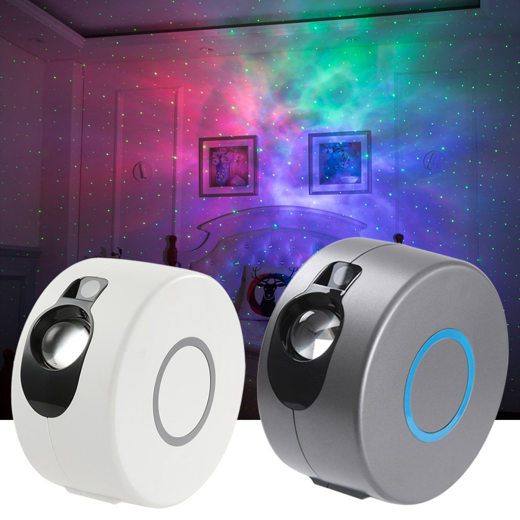 LED Galaxy Night Light Projector With Remote Control