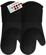 Long Professional Silicone Oven Mitt