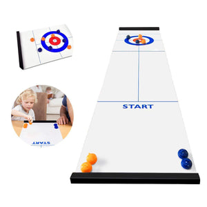 Tabletop Bulls Eye Curling Game™ (Original 2019 Version)