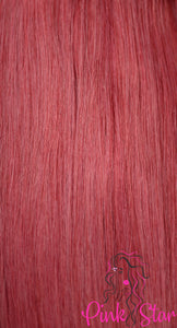 "Seamless Clip In Hair Extensions 120g (18"") - The Pink Star Company"
