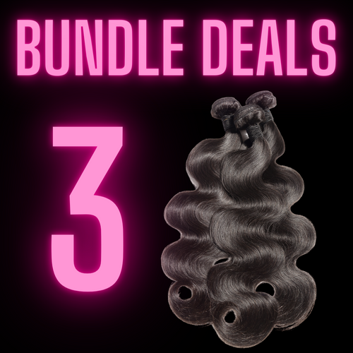 3 BUNDLES - The Pink Star Company
