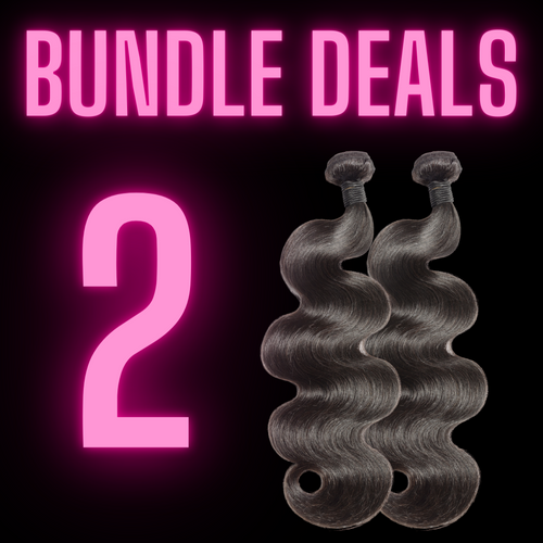 2 BUNDLES - The Pink Star Company