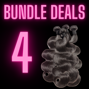4 BUNDLES - The Pink Star Company