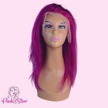 Load image into Gallery viewer, Lace Front Wigs - Purple - The Pink Star Company