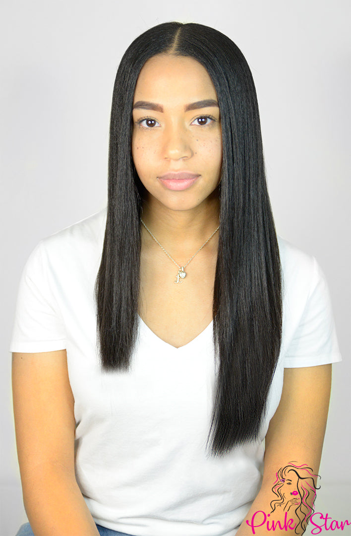 Seamless Clip In Hair Extensions 120g (18