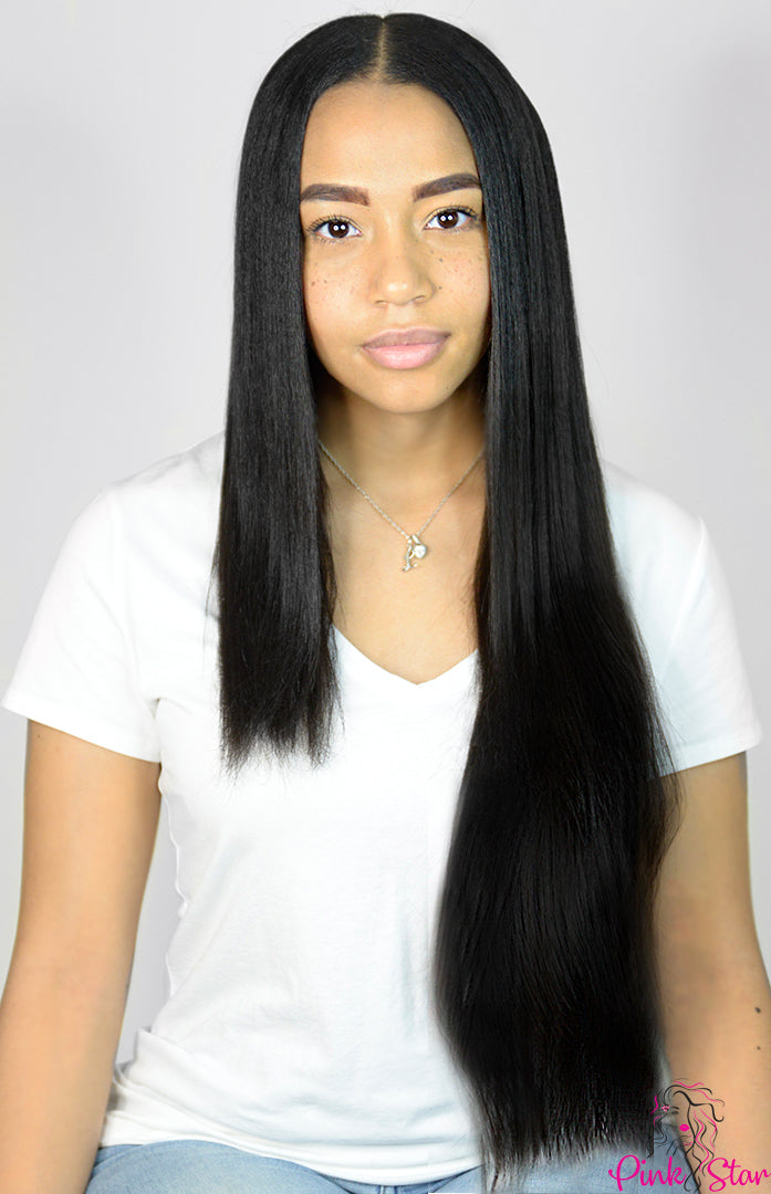 Seamless Clip In Hair Extensions 150g (24