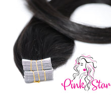 "Load image into Gallery viewer, Tape In Hair Extensions 50g (20"") - The Pink Star Company"