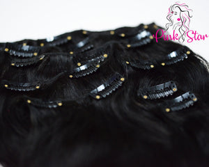 Clip In Extension 120g (OMBRE 8 / 12) - The Pink Star Company