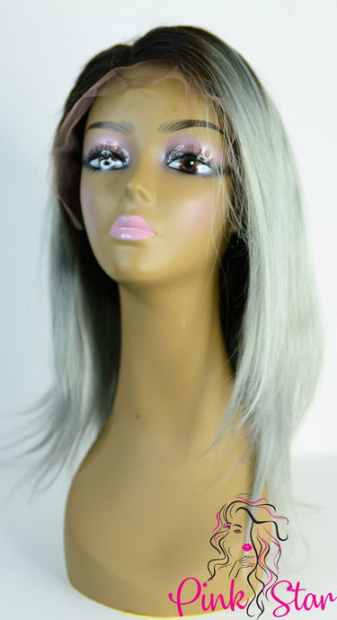 Full Lace Wigs - Silver Grey