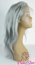 Load image into Gallery viewer, Full Lace Wigs - Silver Grey - The Pink Star Company