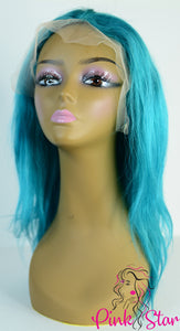 Full Lace Wigs-Teal