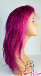 Full Lace Wigs - Purple - The Pink Star Company