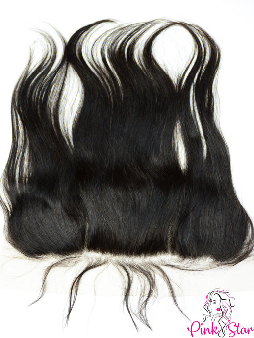 13 x 4 Frontals - Straight Natural Hair - The Pink Star Company