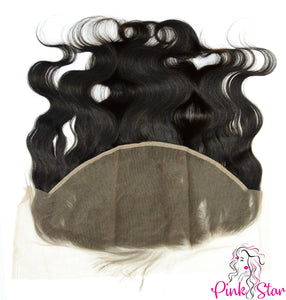 13 x 6 Frontals - Body Wave Natural Hair - The Pink Star Company