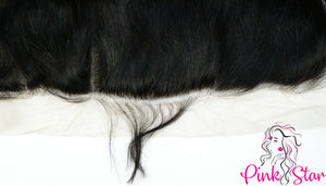 13 x 6 Frontals - Straight Natural Hair - The Pink Star Company