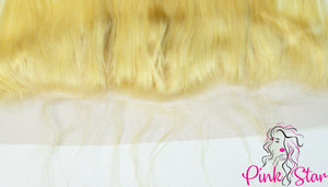 13 x 4 Frontals - Straight Blonde Hair - The Pink Star Company