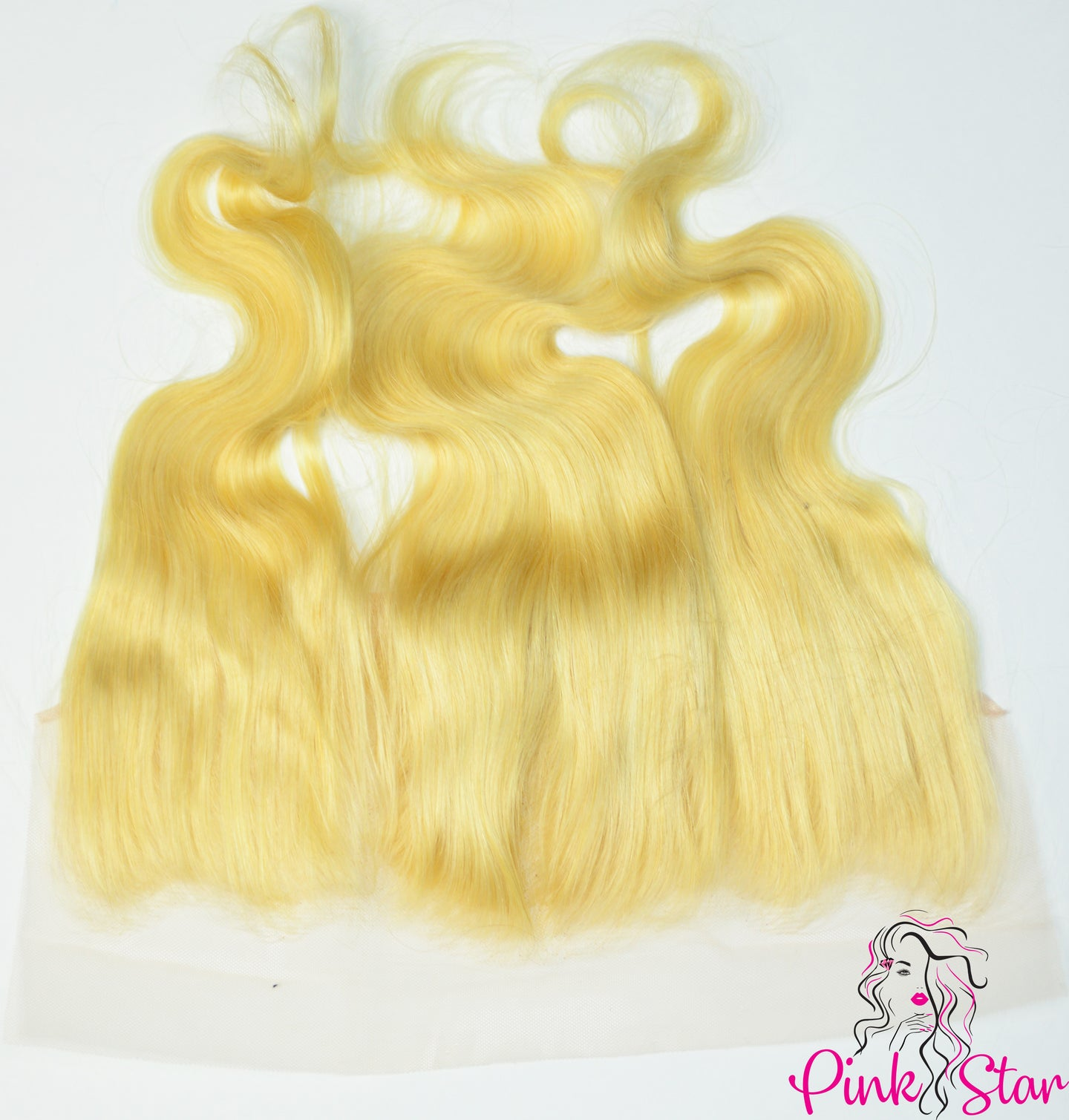 13 x 4 Frontals - Body Wave Blonde Hair - The Pink Star Company