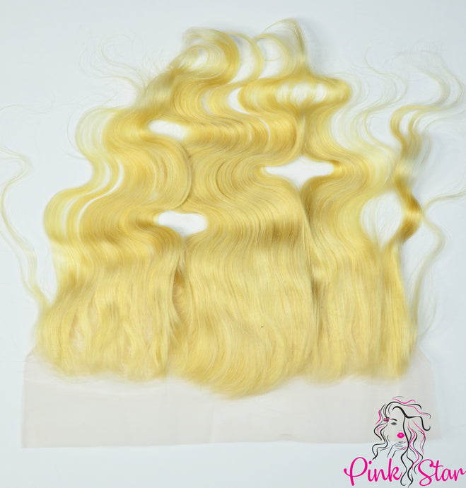 13 x 6 Frontals - Body Wave Blonde 613 Hair - The Pink Star Company