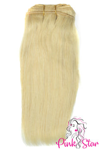 Straight BLONDE  Bundles 100g - The Pink Star Company