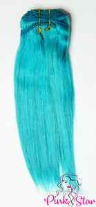 Straight Bundles 100g No.Teal - The Pink Star Company