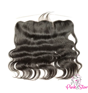 13 x 4 HD Frontals - Body Wave Natural Hair - The Pink Star Company