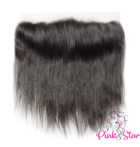 13 x 4 HD Frontals - Straight Natural Hair - The Pink Star Company