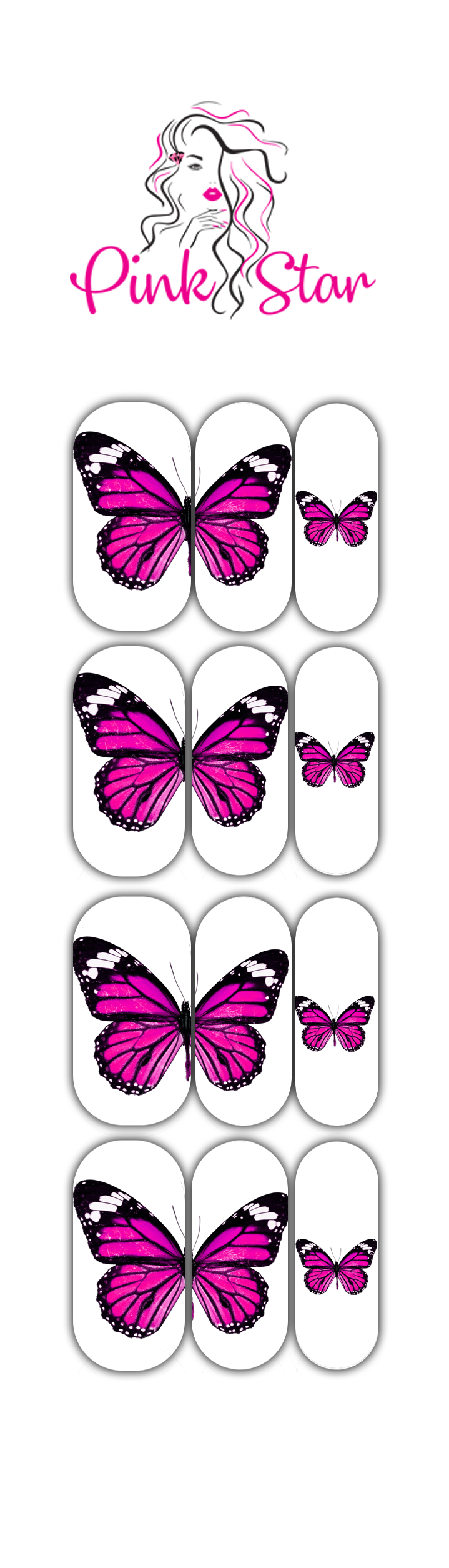 Butterfly 2 - The Pink Star Company