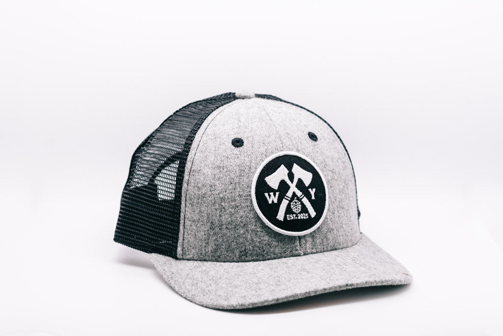 Grey Everyday Woodyard Hat