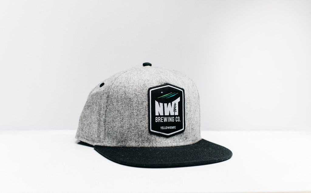 Grey NWT Brewing Tree Hat