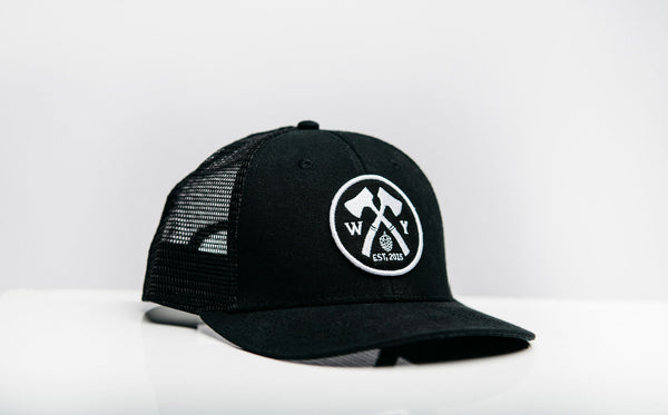 Black Everyday Woodyard Hat