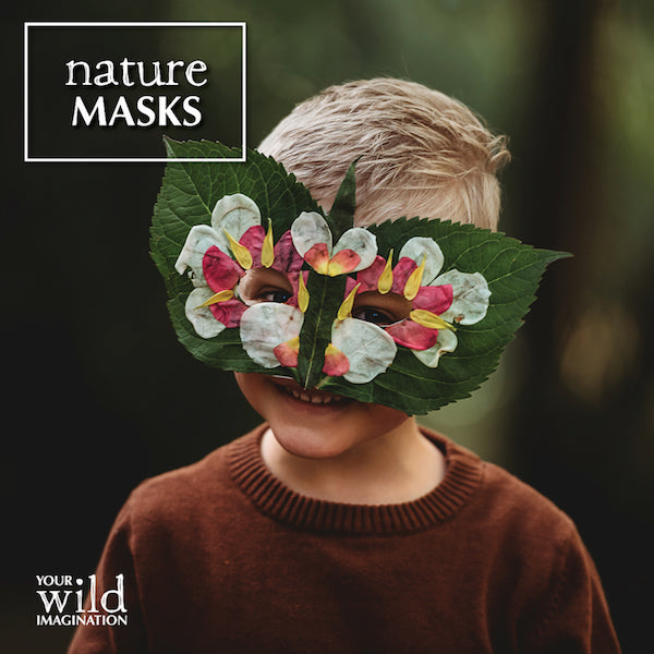 Your Wild Imagination: nature play activity book for kids