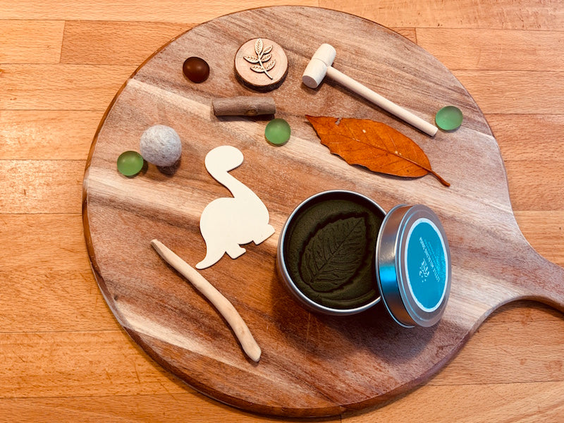 Prehistoric Playdough Mini Kit