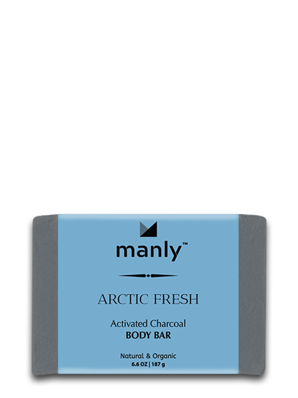 ARCTIC FRESH Activated Charcoal Body Bar